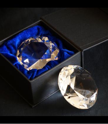 Stiklo ruošinys - Deimantas
