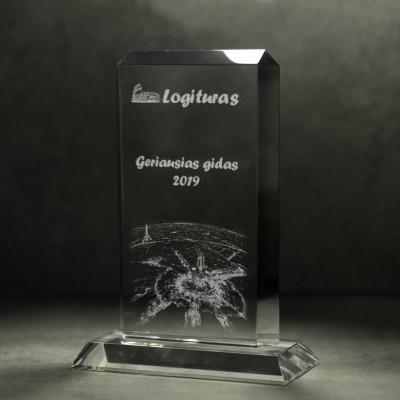 Stiklo apdovanojimas - JL1150C