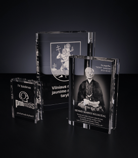 Glass template - Book
