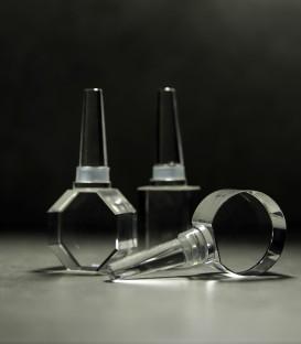 Glass template - Wine plugs