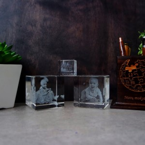 Glass template - Cube