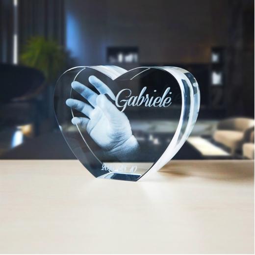 Stiklo gaminys - Širdelė