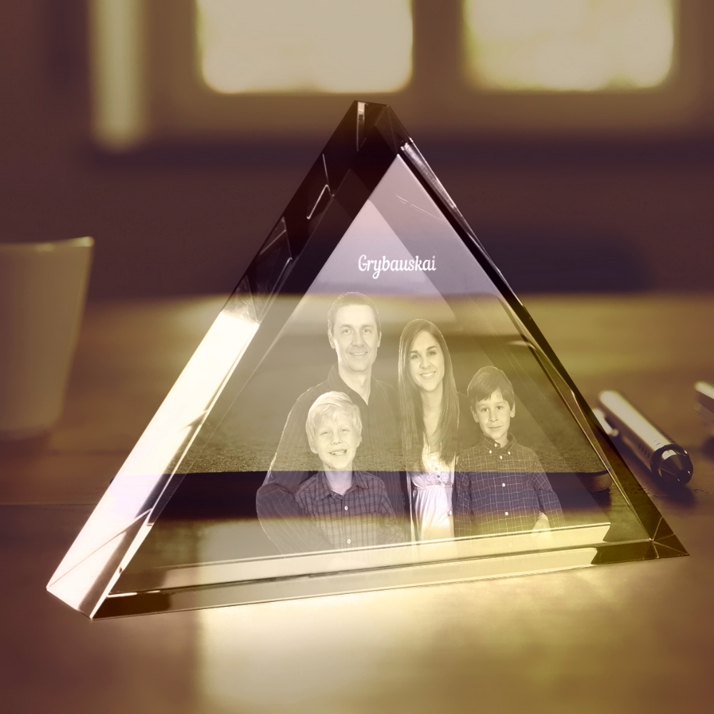 Glass template - Triangle