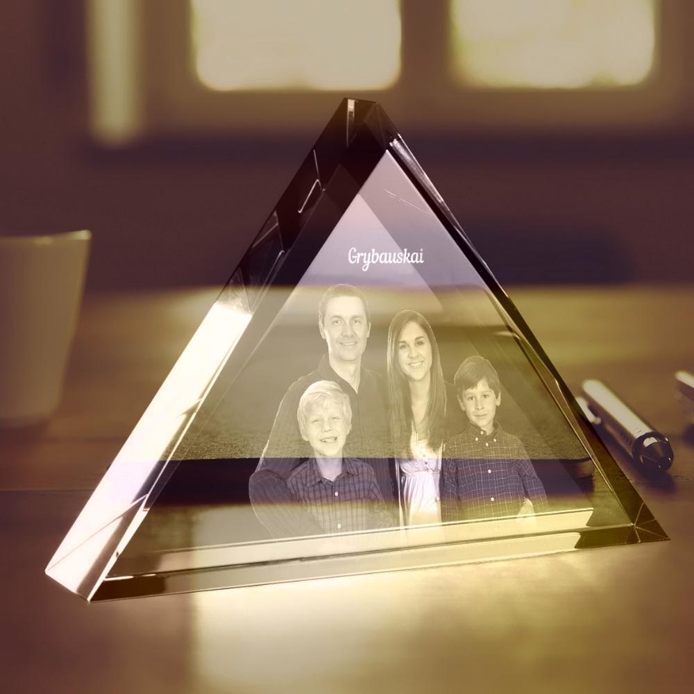 Stiklo ruošinys - trikampis