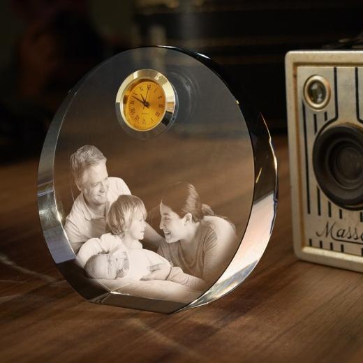 Stiklo gaminys - Laikrodis