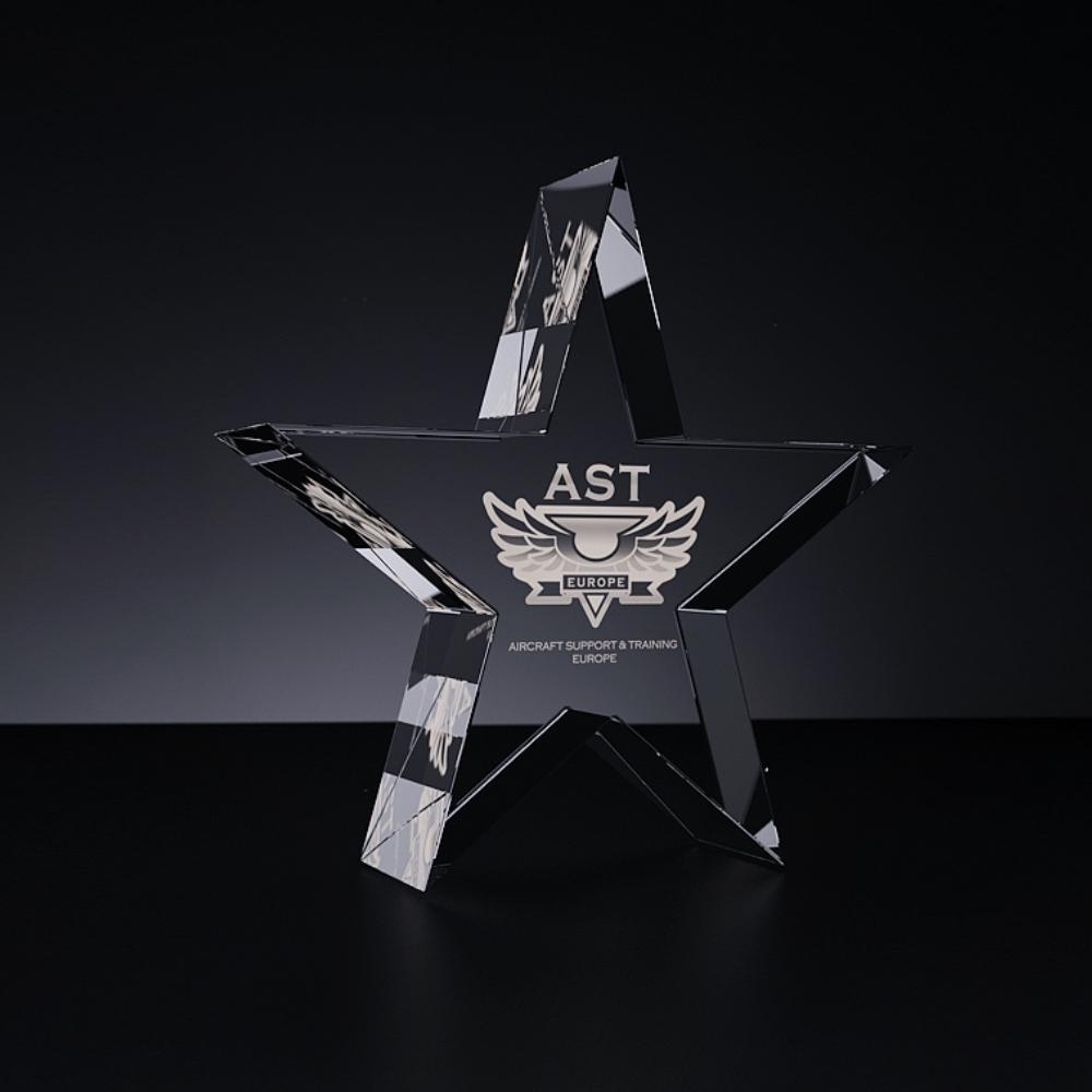Stiklo gaminys - Žvaigždė