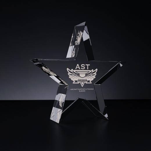 Glass template - Star