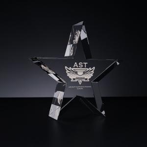Stiklo ruošinys - žvaigždė