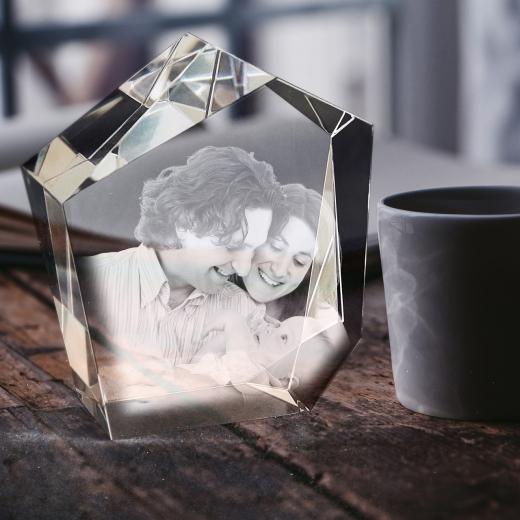 Glass template - Diamond
