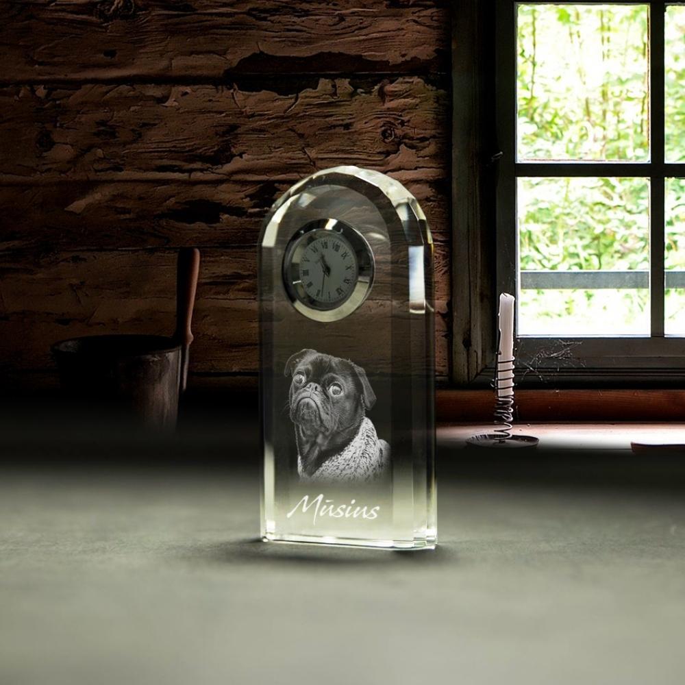 Stiklo ruošinys - Laikrodis
